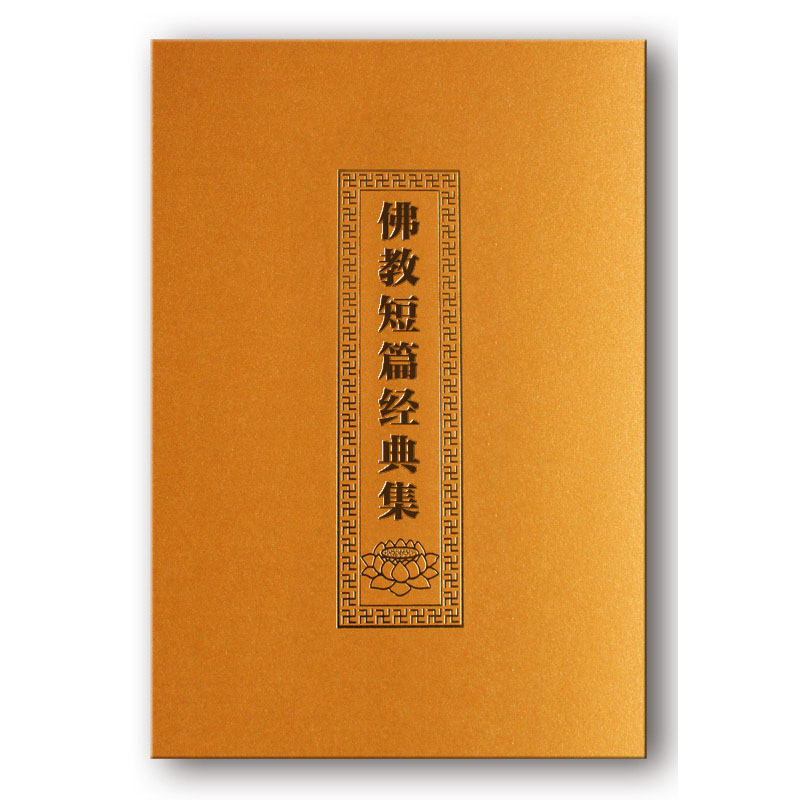 Buddha Said Auspicious Sutra With Pin Yin / Buddhist Books In Chinese Edition