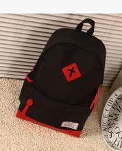 Heiß-verkauf Bump farbe fluoreszierende farbe rucksack studenten freizeit männer und frauen pakete