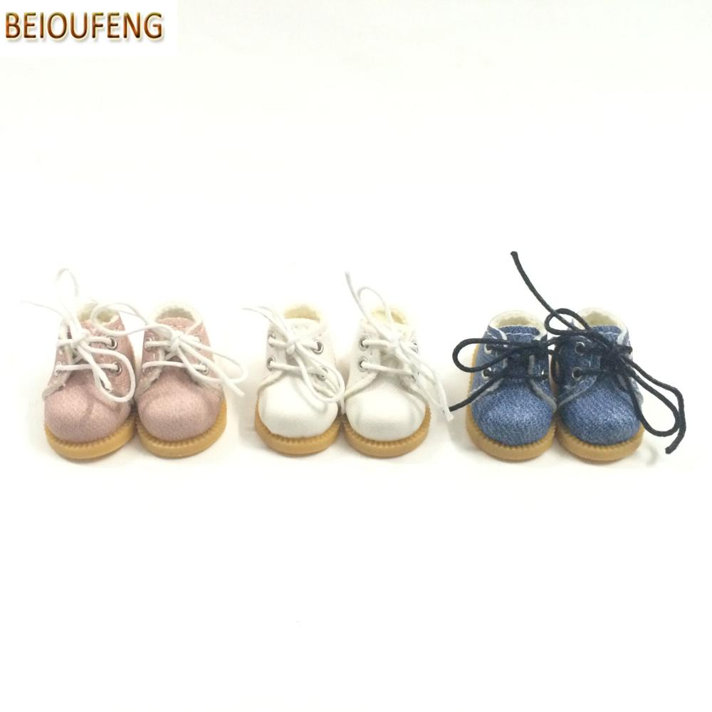 BEIOUFENG Sneakers Shoes for Dolls 3.8cm Mini Toy Boots para Blythe - Muñecas y peluches - foto 4