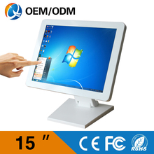 "Desktop computer with cpu C1037U 1.8GHz 15"" LED Panel screen all in one computer touch screen pc with Resolution 1024x768(China (Mainland))"