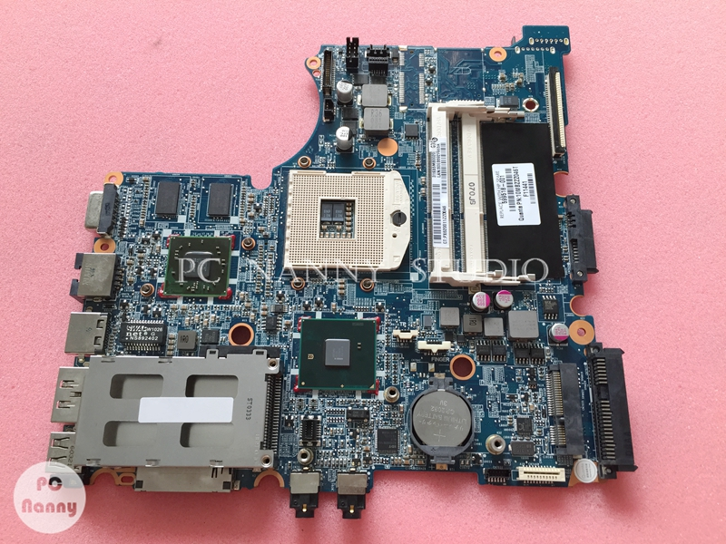 for HP PROBOOK 4321S 4420S 4421S laptop Mainboard MOTHERBOARD 599518 001 s989 w/ HD 5430 HM57-in Motherboards from Computer & Office    1