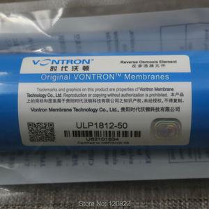 Image 2 - 送料無料 50gpd Vontron RO 膜 + 1812 RO 膜ハウジング + 逆浸透水フィルターシステム部品