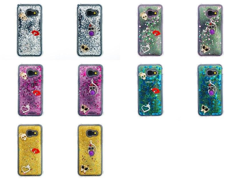 Smart Bling Owl Angel Kiss Flower Crystal Diamond Liquid Sand Quicksand Tpu Case For Samsung Core Prime G360 G3608 Back Cover Cellphones & Telecommunications
