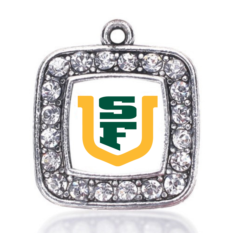 San Francisco Dons CHARM ANTIQUE SILVER PLATED JEWELRY