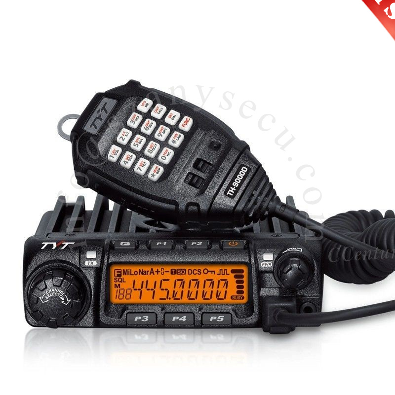 2016 Hot Sell TYT TH-9000D mobile Radio VHF 136-174MHz 60Wattes transceiver TH9000D car radio Free Shipping