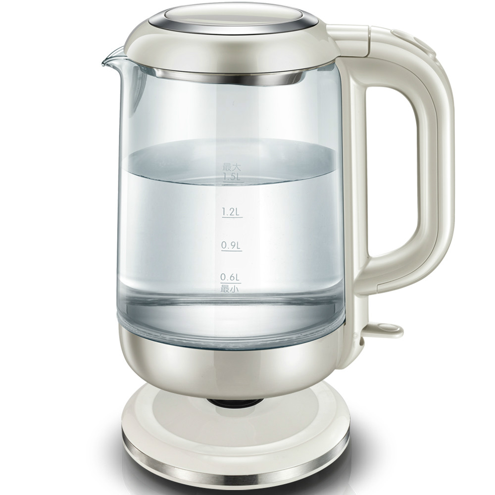 Electric kettle automatic power glass kettles raised kettle Safety Auto-Off Function electric kettle automatic electric kettles all stainless steel without power safety auto off function