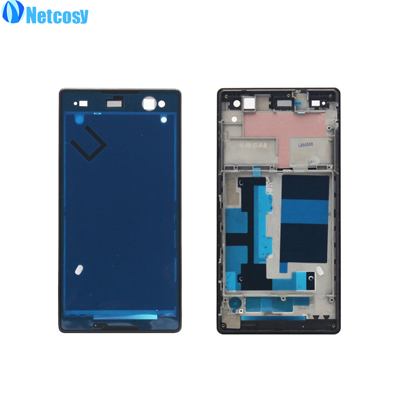 Netcosy Frame Bezel Housing Cover A Frame for Sony Xperia C3 S55T Front Screen Frame Board Cheap Replacemenrt Repair Part