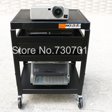Projector mobile carts move bracket projector wheels car stand monitor or other device