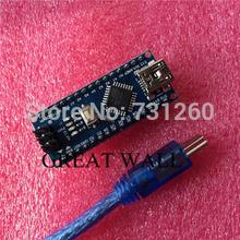 Nano 3.0 controller compatible with arduino nano CH340 USB driver with CABLE NANO V3.0 handaixian