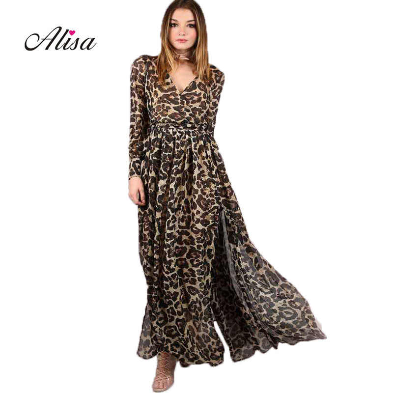 d2fcd2f32377467 Вечерние Платье Для женщин тонкий сексуальный V шеи макси платья шифоновые  платья длинный халат Femme женская