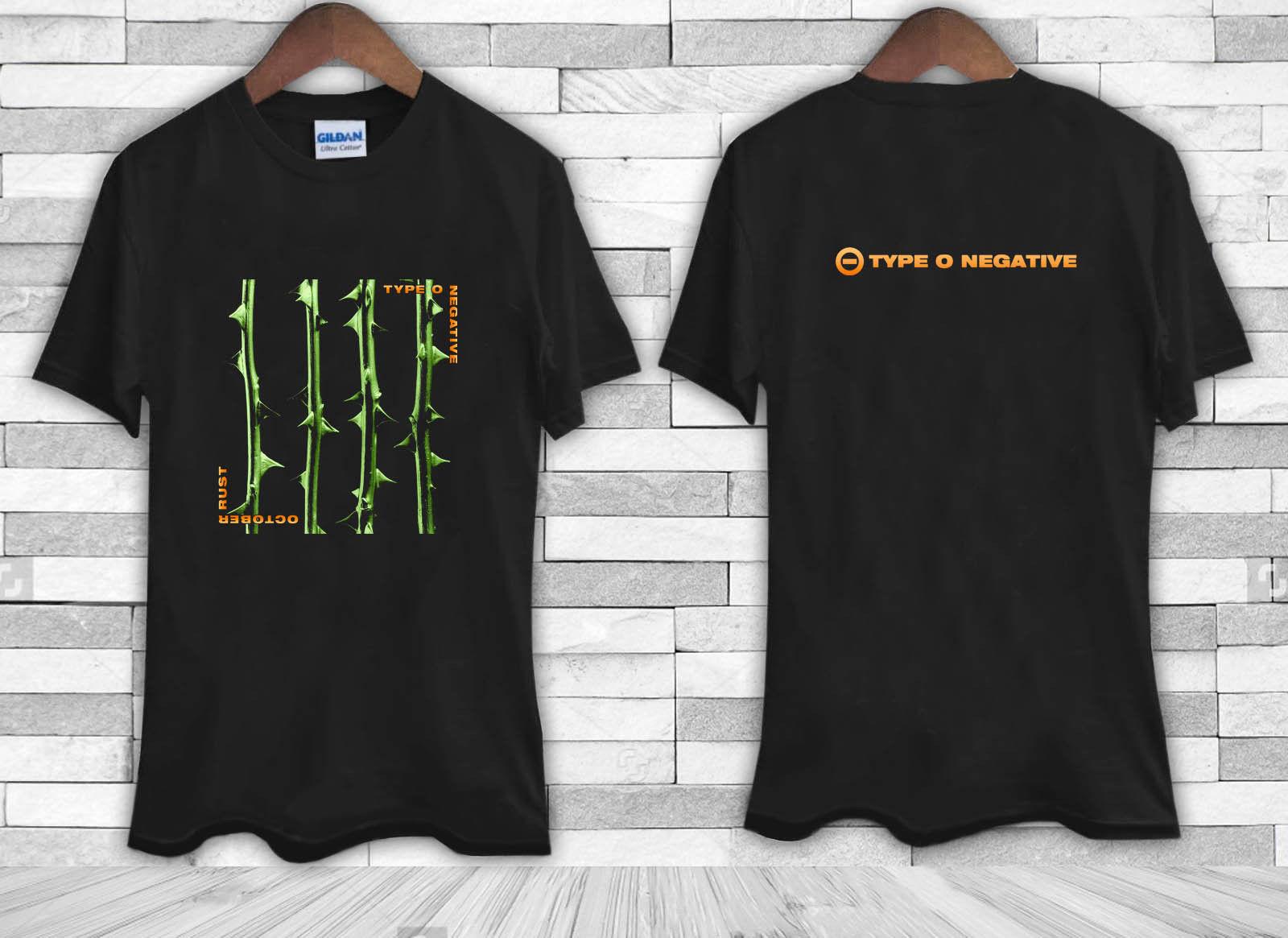 Shirt design types - Gildan New Type O Negative October Rust Men S Tee Shirt Tshirt China Mainland