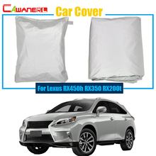 Cawanerl Car Cover Sun Shade Rain Snow Resistant Protector Cover Anti UV For Lexus RX RX450h RX350 RX200t