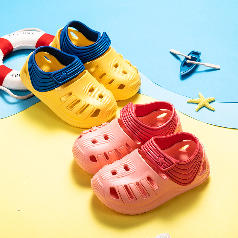 2019 New Style of Fashion Casual Sandals for Boys Girls Sandals for Baby Shoes Anti-Slip Children Sandals Light Weight EVA