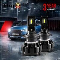 1 Set Mini H11 H4 H7 H3 H11 Led 12V Car Headlight Bulb 60W 12000LM H27