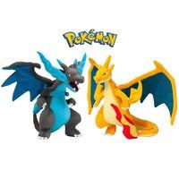 2 stks Pokemon Mega Evolution X & Y Charizard Knuffels Zachte Knuffels Speelgoed Pop voor Kinderen Kinderen Kerstcadeaus Met Tag