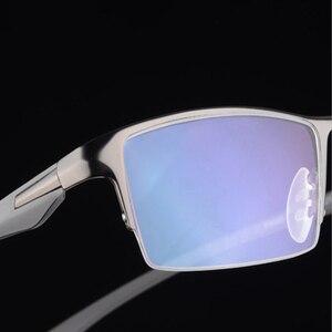 Image 2 - Brand Design Titanium Alloy Eyeglass Male Myopia Glasses Spectacle Frames for Men