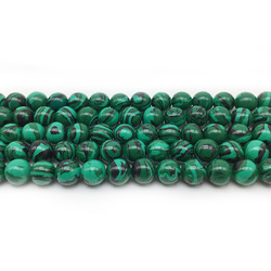 1 Strand Round Malachite Beads 4-16mm Pick Size Fitting DIY Jewelry Making Charm Stone Sieraden Maken Ornament Loose Accessories