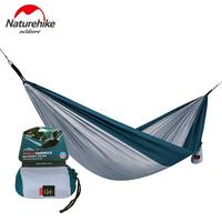 Naturehike 1 Person 2 Person Outdoor Hammock Swings Hanging Tent Portable Sleeping Bed Ultralight Single Double Camping Hammock