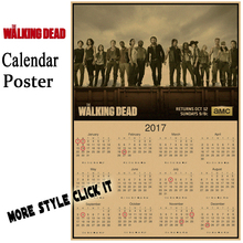 The Walking Dead 2017 Calendar