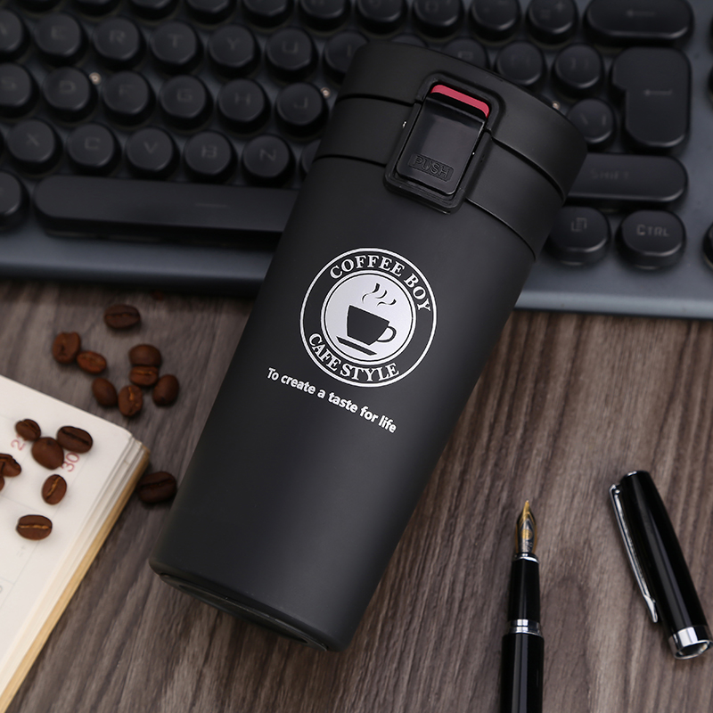 350ml Coffee Cup Thermo Mug Thermo Water Bottle Portable Travel Coffee Vacuum Flasks Thermoses Stainless Steel Mug Thermocup