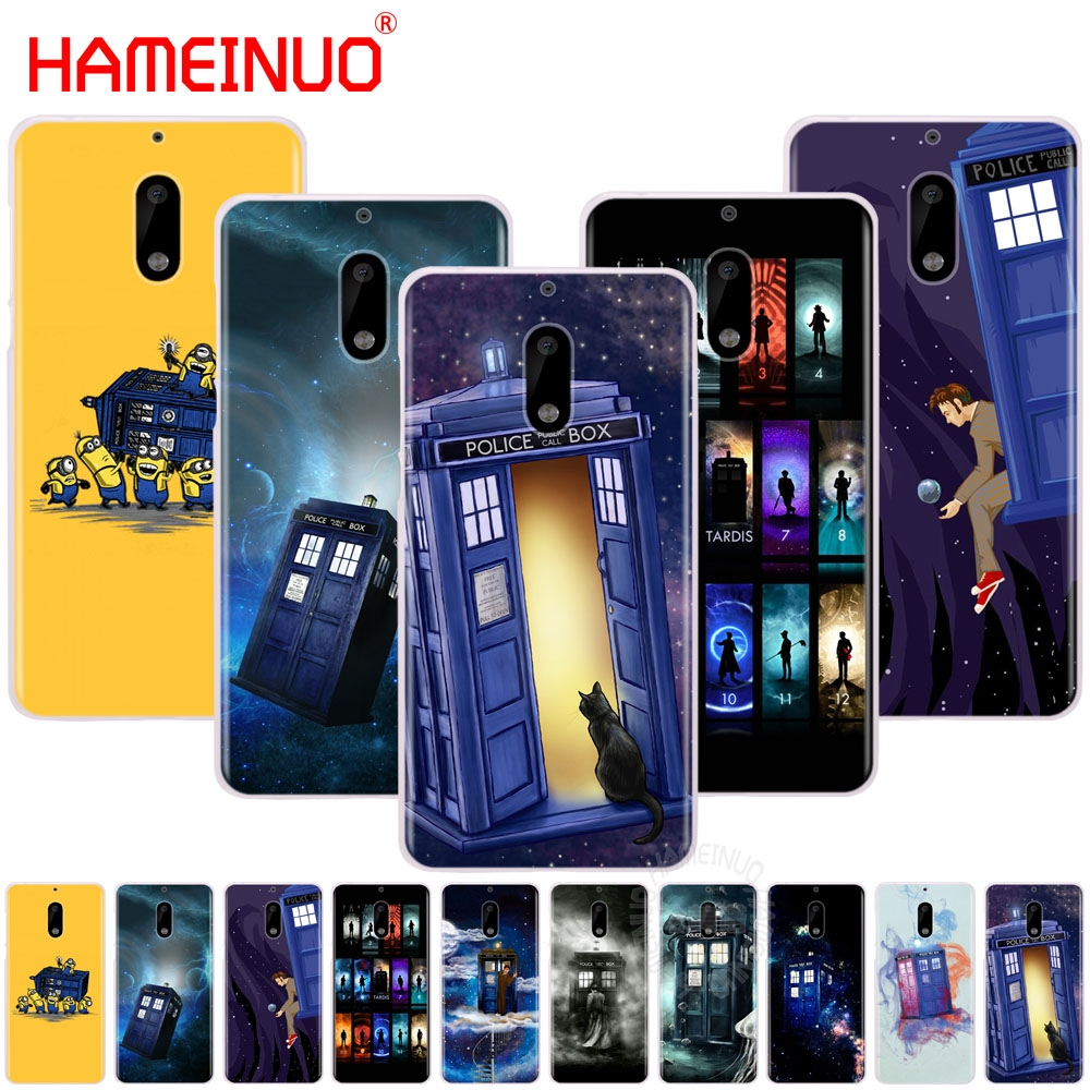 Hameinuo Tardis Box Doctor Who Cover Phone Case For Nokia 9 8 7 6 5 3 Lumia 630 640 640xl 2018 A Plastic Case Is Compartmentalized For Safe Storage Phone Bags & Cases Half-wrapped Case