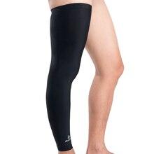 Perneras ชิ้นขาอุ่นขี่จักรยานการบีบอัดขาแขนสนับสนุนกีฬาเข่า Ciclismo Pads