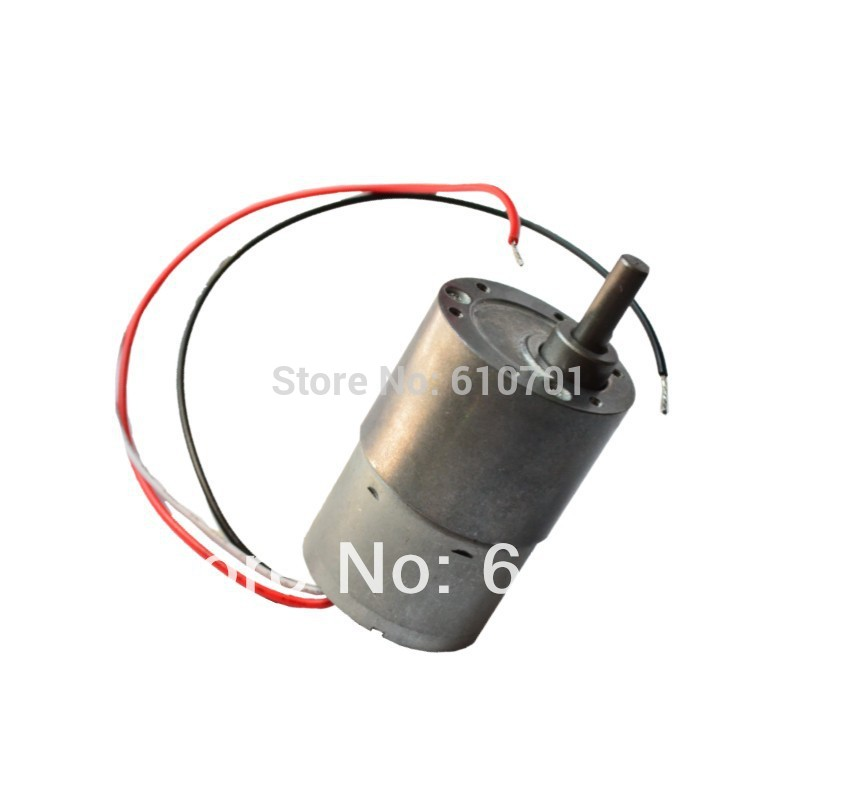 12V 24V  Rotate Speed Reduction Brushless Electric DC Geared Motor JGB37-3625 Can Control Rotate as CCW or CW dental endodontic root canal endo motor wireless reciprocating 16 1 reduction