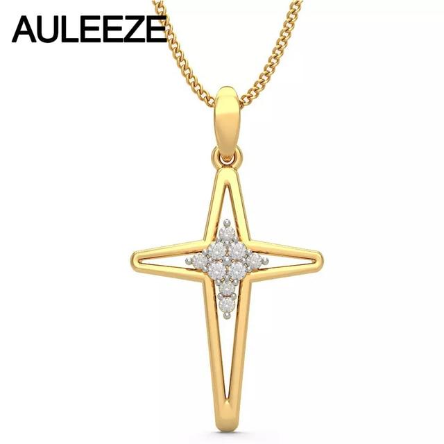 Forever classic hollow cross pendants solid 14k yellow gold pendants forever classic hollow cross pendants solid 14k yellow gold pendants for women natural diamond fine jewelry aloadofball Choice Image