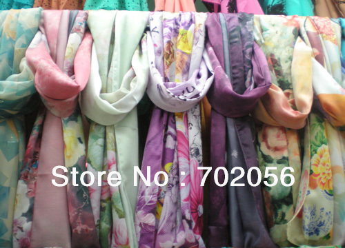 NEW satin Neck   scarf     SCARVES     wrap     scarves   shawls gift 180*55cm mixed 15pcs/lot #3005