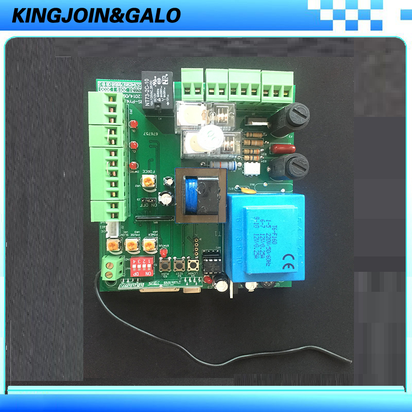 AC220V PCB controller circuit board for sliding gate opener motor electronic card