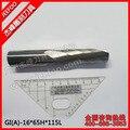 16*65H * 115L אחת חליל CNC כרסום כלים/חריטת Cutters/עץ גילוף Bits/תרגיל להב לחיתוך MDF/אקריליק/פלסטיק|blade part|blade toolblade thickness -