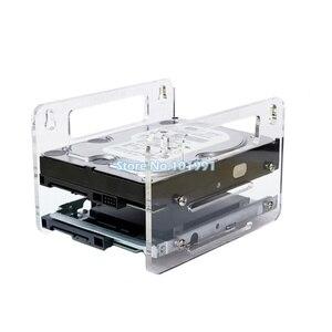 """Image 2 - DEBROGLIE YJ Y2G/Y4G かけ型アクリルハードディスクブラケットハードディスクカートリッジ 3.5 """"HDD ケージ機械式ハードディスクボックス"""