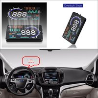 Car HUD Head Up Display For Ford B Max/C Max/i MAX/S Max OBD HUD Safe Driving Screen Projector Inforamtion Refkecting Windshield|ford hud|up displaydisplay for car -