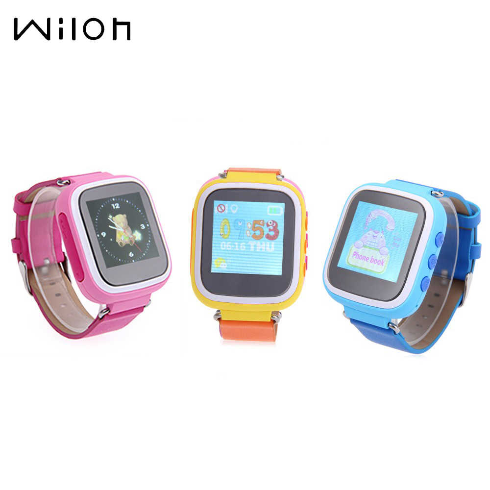 "Hot GPS tracking Watches for kids SOS Call Finder Locator Q80 Tracker for Kids TFT screen 1.44"" remotely Monitor Wristwatches"