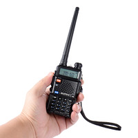 "5r bf BF-UV-5R Baofeng מכשיר קשר שני דרך Cb הרדיו ידני אפנון תדר של Talkie Walkie 10 ק""מ נטענים Hf מקמ""ש (3)"