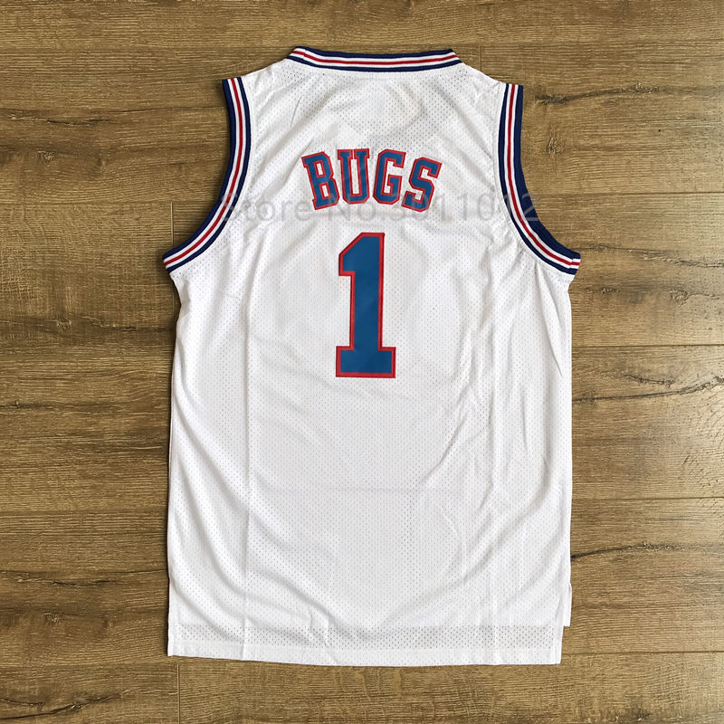 32f3c607b4747e new style new youth space jam basketball jersey tune squad 22 bill murray 1  bugs 10