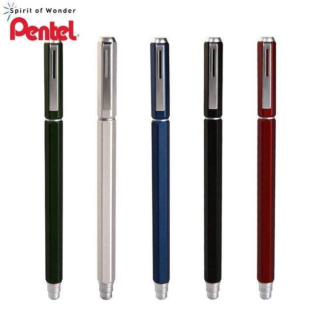 Pentel Gel Pen BLN665 Metal Signature Pen Office Supplies Water based Black Refill 1pcs