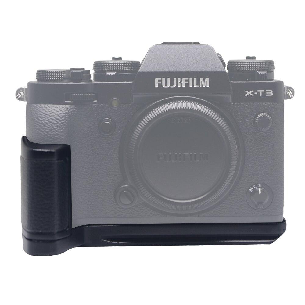 Mcoplus XT3G nouvelle caméra à prise verticale L type support métallique support de prise en main pour appareil photo Fujifilm XT3