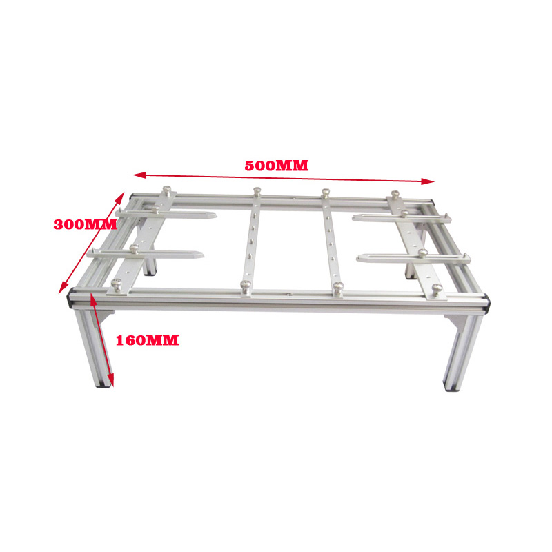 univesal BGA holder of simple configuration 500mmx300mmx160mm for fixed desktop /laptop motherboards/other large size PCB Board