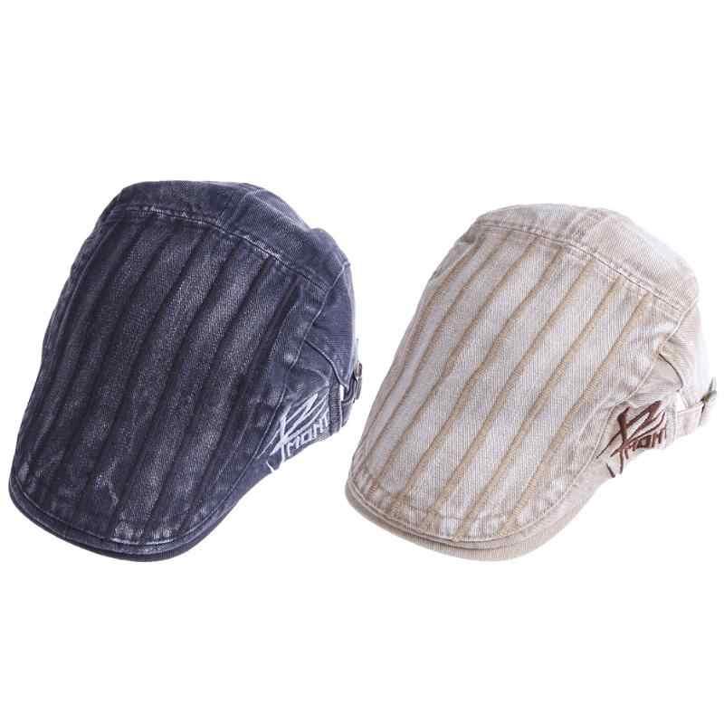 Винтажные европейские осенние береты, шляпа с вышивкой, индивидуальная подходящая ко всему Кепка для мужчин, Повседневная Кепка с вышивкой, хлопковая шапка