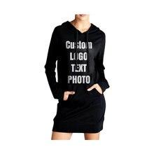 Женские толстовки на заказ с длинным рукавом Пуловеры круглым