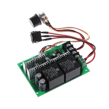 DC 10-50V Motor Speed Controller Reversible PWM Control Forward Reverse Switch