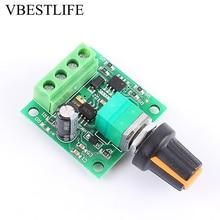 Dc Motor hız kontrolörü 1.8 V-15VDC 2A 30W Motor hız regülatörü PWM 1803B düşük voltaj hız kontrol cihazı
