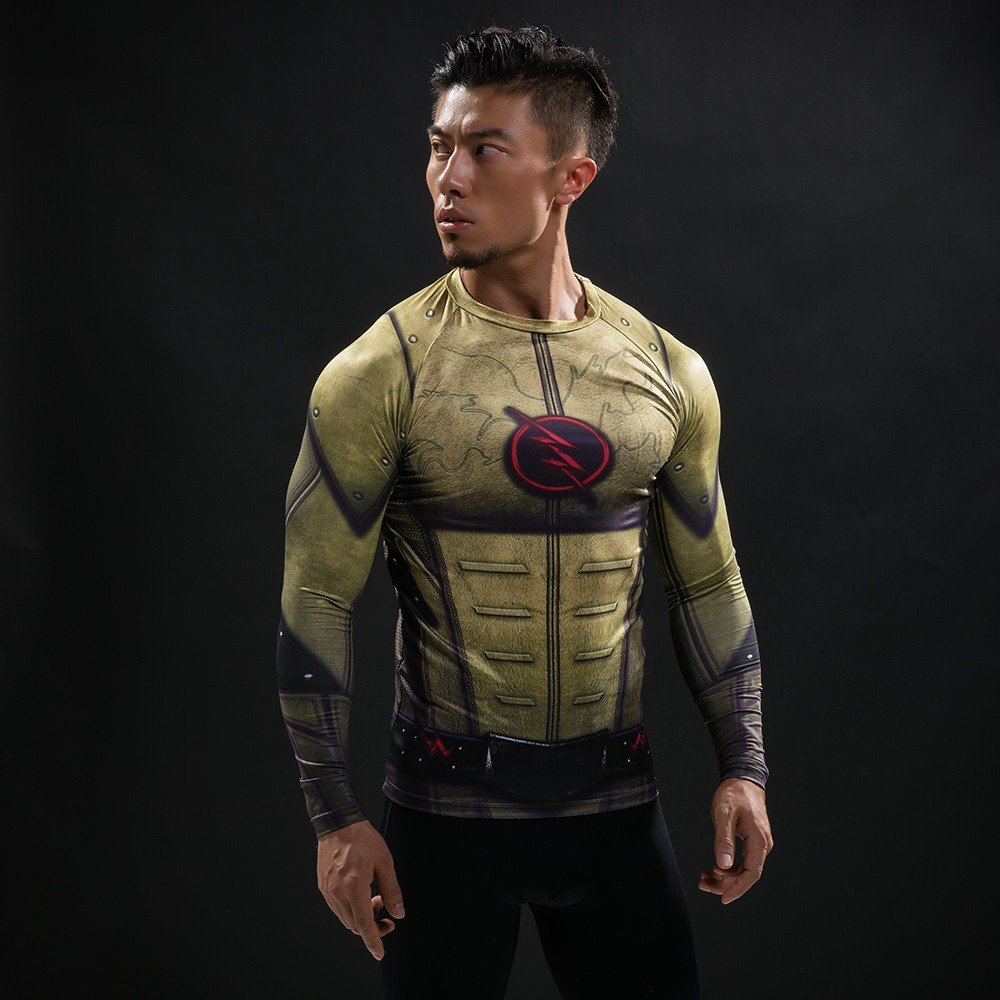 Punisher 3D Printed T-shirts Men Compression Shirts Long Sleeve Cosplay Costume crossfit fitness Clothing Tops Male Black Friday 61