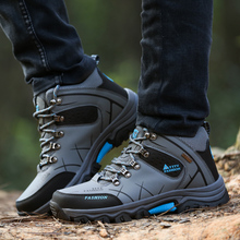 Winter Anti-skidding Leather Shoes for Men