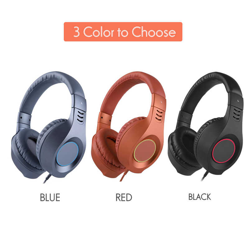 SENICC A2I PS4 słuchawki gamingowe mocny bas muzyka dziewczyna dzieciak zestaw słuchawkowy z zerowym ciśnieniem z pałąkiem na głowę z mikrofon do telefonu Pad PS4