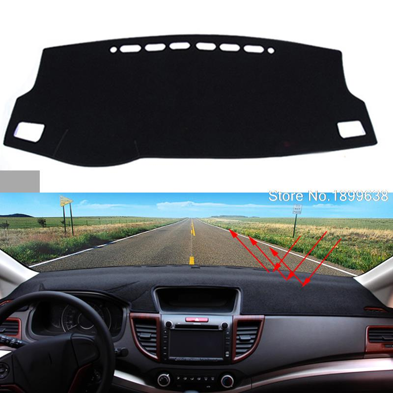 Car dashboard Avoid light pad Instrument platform desk cover Mats Carpets Auto accessories for toyota corolla 2007 to 2016 dashboard cover