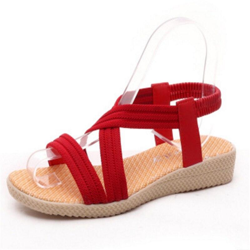 flache rote sandalen kaufen billigflache rote sandalen. Black Bedroom Furniture Sets. Home Design Ideas