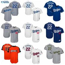 bb20d8a57 MLB Los Angeles Dodgers Clayton Kershaw jerseys for men and women youth  05(China)
