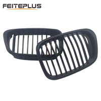 For BMW E39 5 Series Car Front Grille Grills Car Styling Covers Grilles 1998 1999 2000 2001 2002 2003